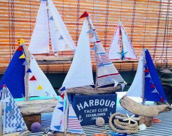 velero driftwood yate de madera barco decoracin costera