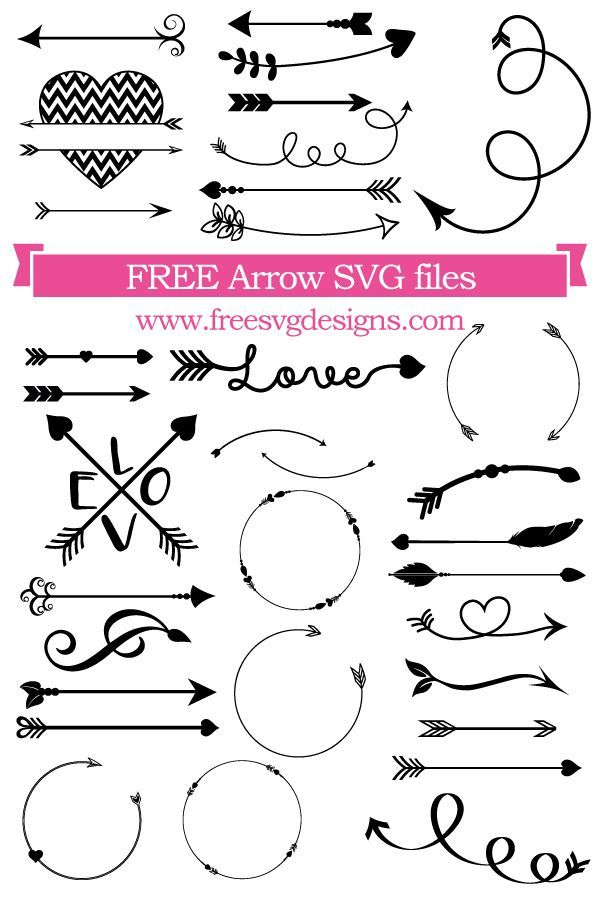 Free arrow cut files at www.freesvgdesign…. FREE…