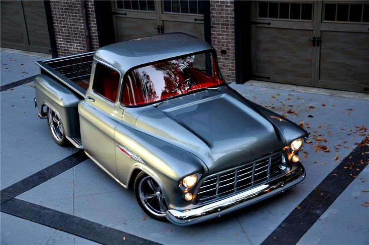 1955 CHEVROLET 3100 CUSTOM PICKUP - Barrett-Jackson Auction Company - World's Greatest Collector Car Auctions