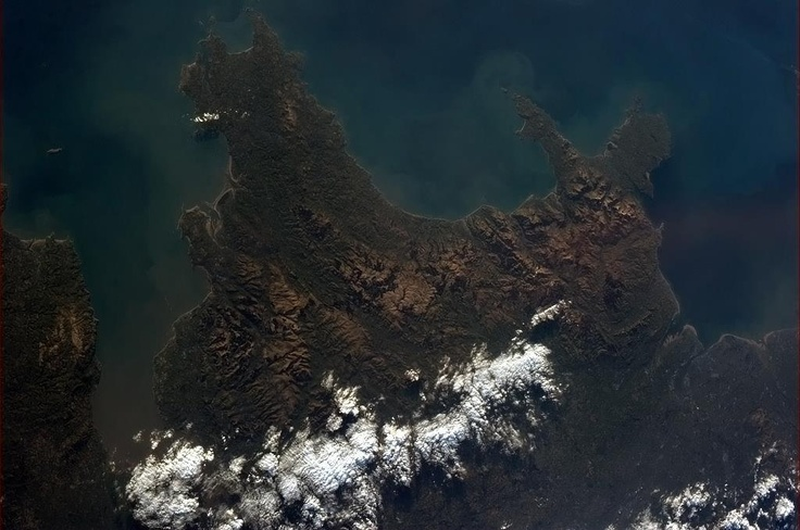 Wales - rugged, proud and uniquely beautiful. From the International Space Station by Col. Chris Hadfield