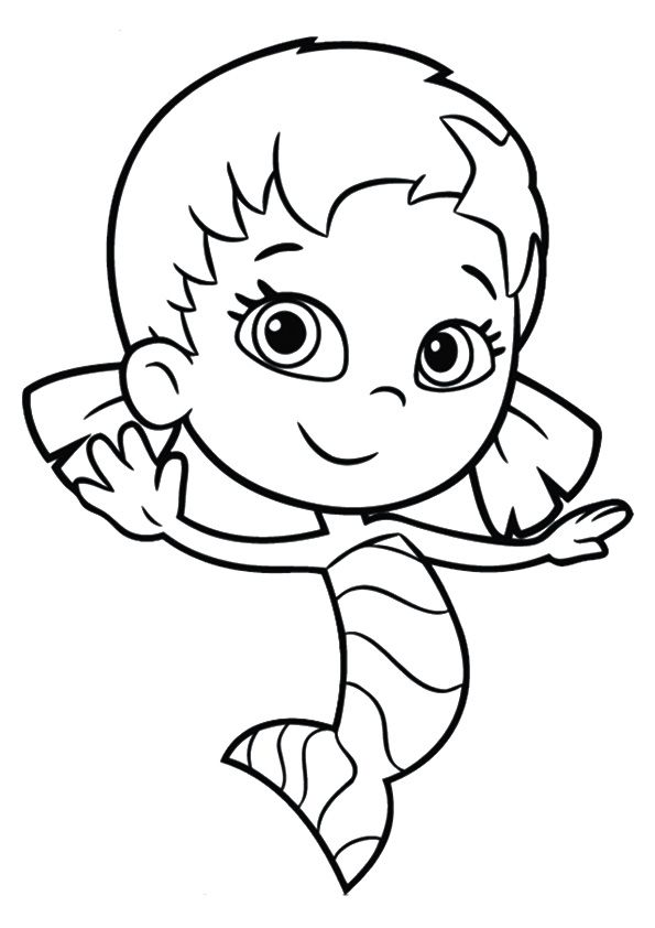 60 best bubble guppies coloring pages images on pinterest - Coloring bubble guppies ...