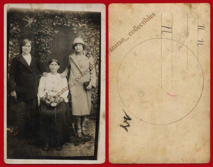 #23122 Greece 1930s. Women. Photo PC size.