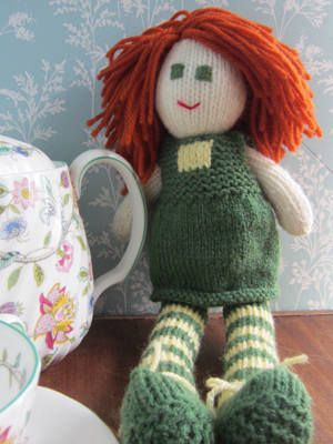 Dizzy Dotty Hand Knitted Rag Doll   Buy Now