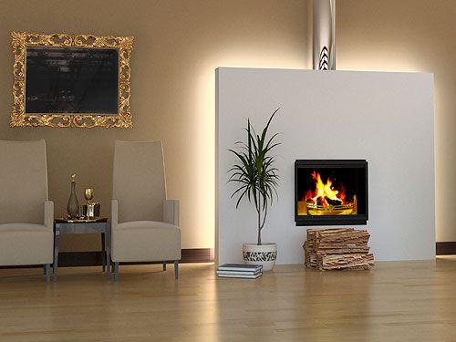 indirekte beleuchtung hinter kamin kamin pinterest indirekte beleuchtung beleuchtung und ofen. Black Bedroom Furniture Sets. Home Design Ideas