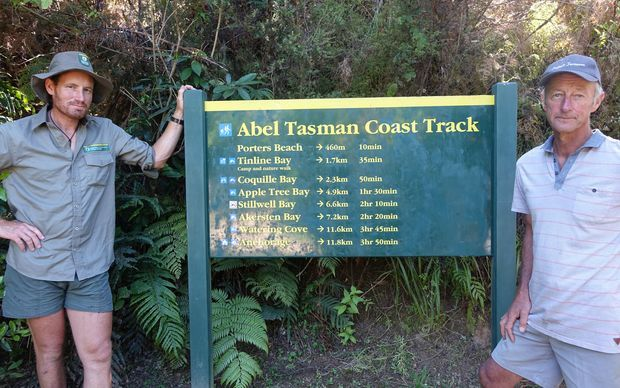 Radio NZ story on the 'War on Wasps' in the Abel Tasman National Park