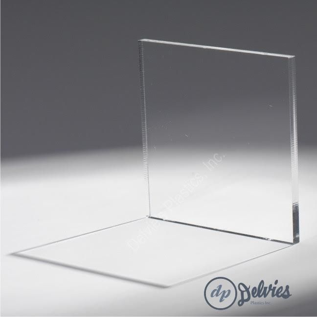 "Clear Acrylic Sheet - Delvie's Plastics Inc. 1/4"" would work for squeegee. Available in 6x48"" length."