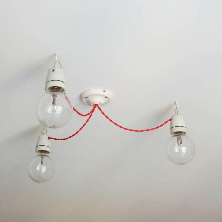 Festoon chandelier