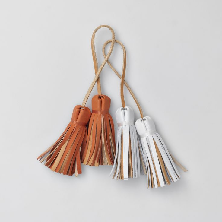 TheBétaVersion ♥ details - colorful tassels for Zelda leather cross body bags