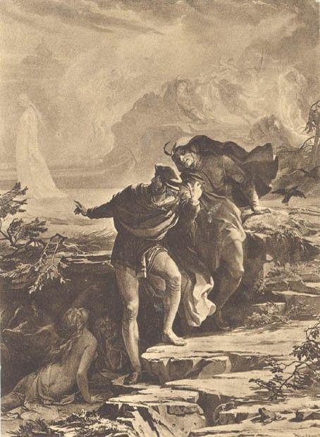 Dans le faust de gounod, Méphistophélès célèbre la Walpurgis Nacht sur le mont Hartz
