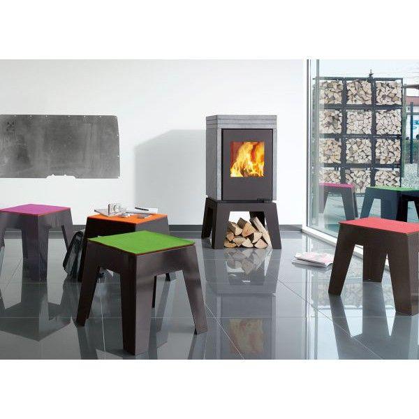 Kaminland Bremen 119 best kaminofen images on fireplace heater black