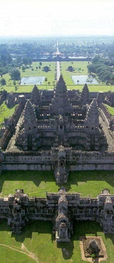 Angkor, Cambodia | UNESCO World Heritage Site .. 6146 Miles ... (2016/04/09)
