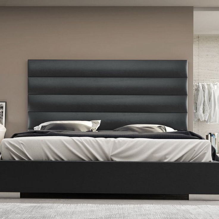 Designs California King Platform Bed Frame With Tufted