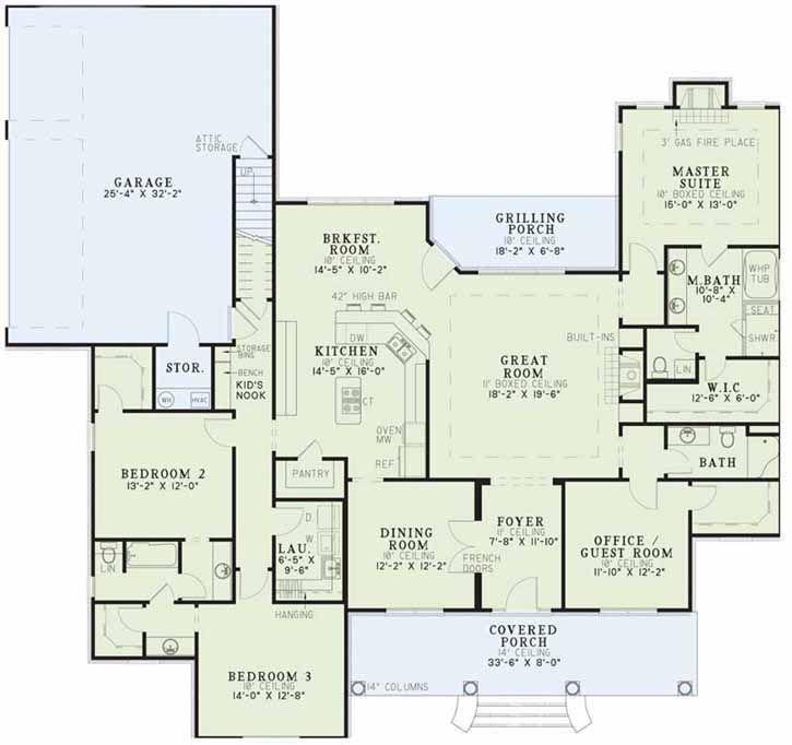 best 25+ open floor house plans ideas on pinterest | open concept
