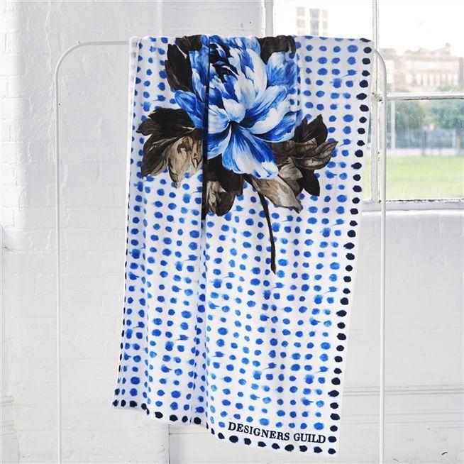Amlapura Cobalt Beach Towel