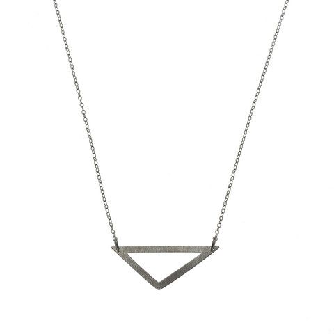 Delta Necklace Chain - sort Pernille Corydon