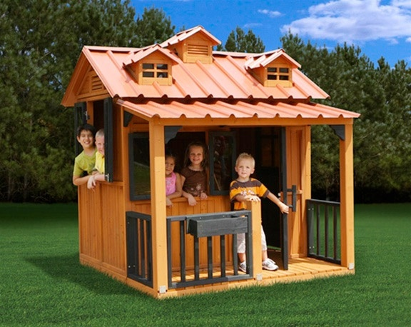 Visit us for more design ideas..: Outdoor Playsets, Breckenridge Outdoor, Breckenridge Playhouse, Design Ideas, Gorilla Playsets, Kids, Outdoor Playhouses, Garden, Play Houses