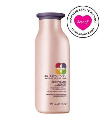"Best Shampoo for Fine Hair No. 7: Pureology Pure Volume Shampoo, $27.50 TotalBeauty.com Average Member Rating: 8.7*  Why it's great: While readers acknowledge that this shampoo's on the expensive side, they still think it's a good value. ""It is pricey, but I find I am using about a quarter of the amount of shampoo that I was using before,"" a fan writes.   ""This is by far the best shampoo I've ever used,"" one user raves. ""It gets my hair clean and adds volume without stripping it of…"