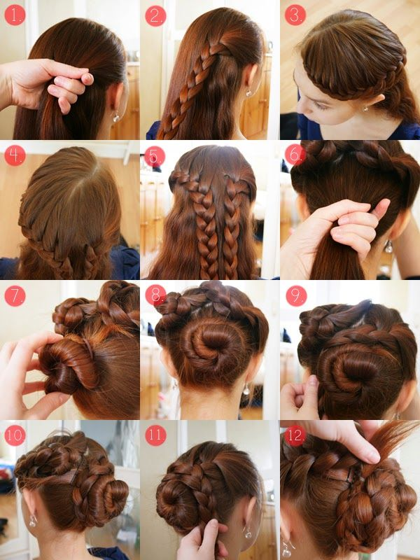 Look Like A Model: Tutorial hairstyle 2014 : come fare acconciature con le trecce ai capelli, in tanti modi diversi e particolari (FOTO e VIDEO)