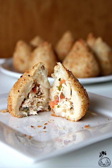 Coxinha - Brazilian Chicken Croquette. Classic snack!