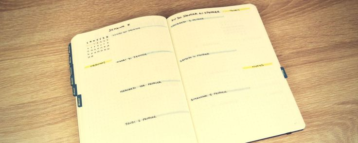 10 inspirations pour vos pages hebdomadaires