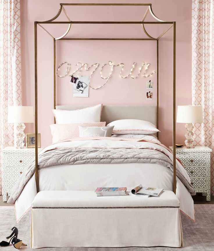 17 Best Ideas About Teen Canopy Bed On Pinterest