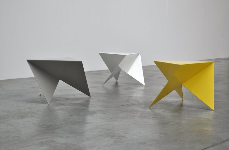 Piet Blom side tables ca 1975