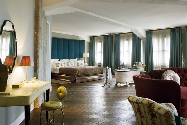 The Soho House Berlin. been to the soho house LA and omg! who's designing these spaces?!
