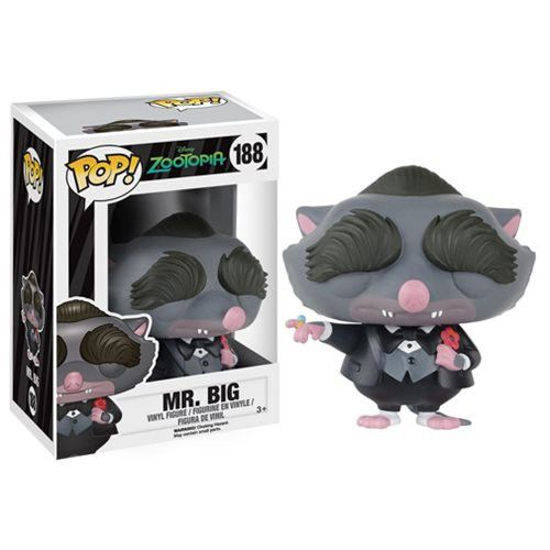 Disney Pop! Vinyl Figure Mr. Big (Zootopia)