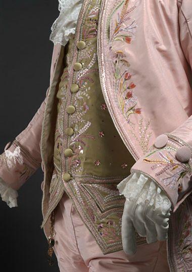 Man suit with jerkin circa 1700