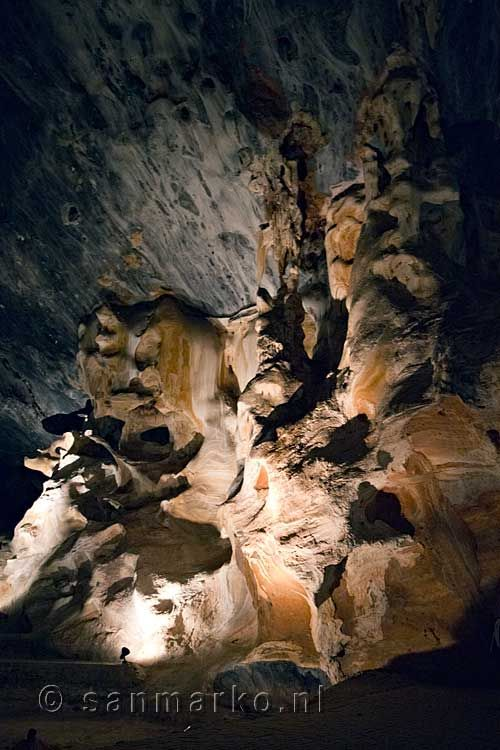 The sealing of the Cango Caves in Oudtshoorn in South Africa