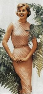 Vintage knitwear 1957 - it will certainly keep you cozy!