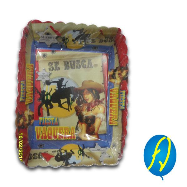 TORTERA VAQUERA, un producto más de Piñatería Fiesta Virtual de Colombia - lo puedes ver en http://bit.ly/2pslvff. #FiestaVirtual
