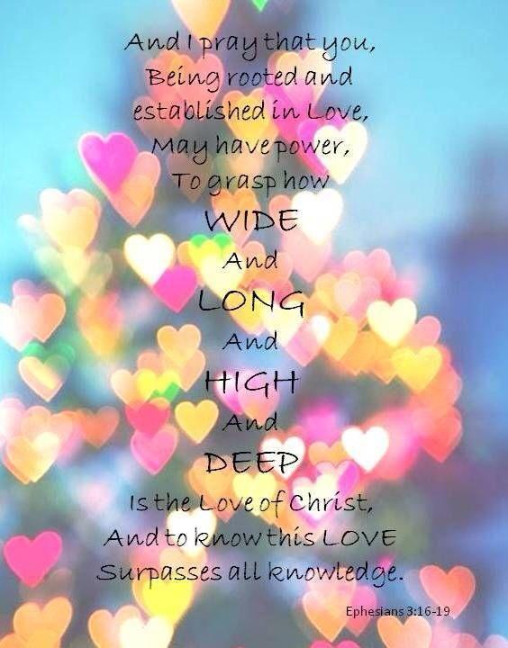 EPHESIANS  3:16 -19