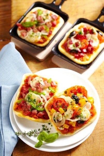 Raclette-Pizza                                                                                                                                                                                 Mehr