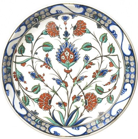 Iznik Plate. East West. Tate.