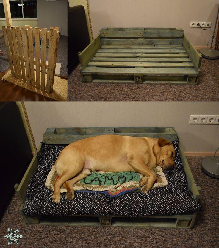 Pallet Project Diy Dog Bed Love Labrador Pallet Dog