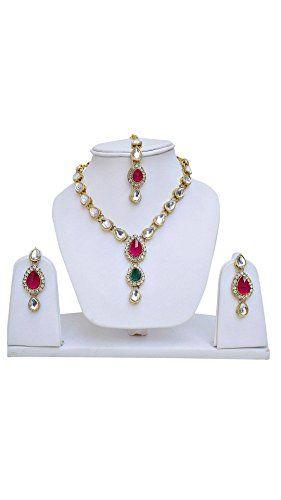 Dazzling Pink & Green Stone Indian Bollywood Gold Plated ... https://www.amazon.com/dp/B06ZZQLVJL/ref=cm_sw_r_pi_dp_x_WeE.yb4YAKFMG