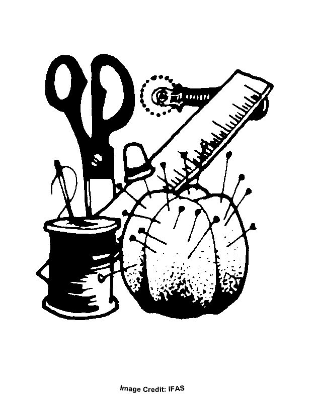 free sewing coloring pages | Sewing Supplies - Free ...
