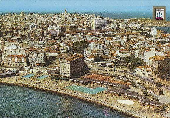 La Solana cuando daba al mar. años 70 #Coruña #dMudanza