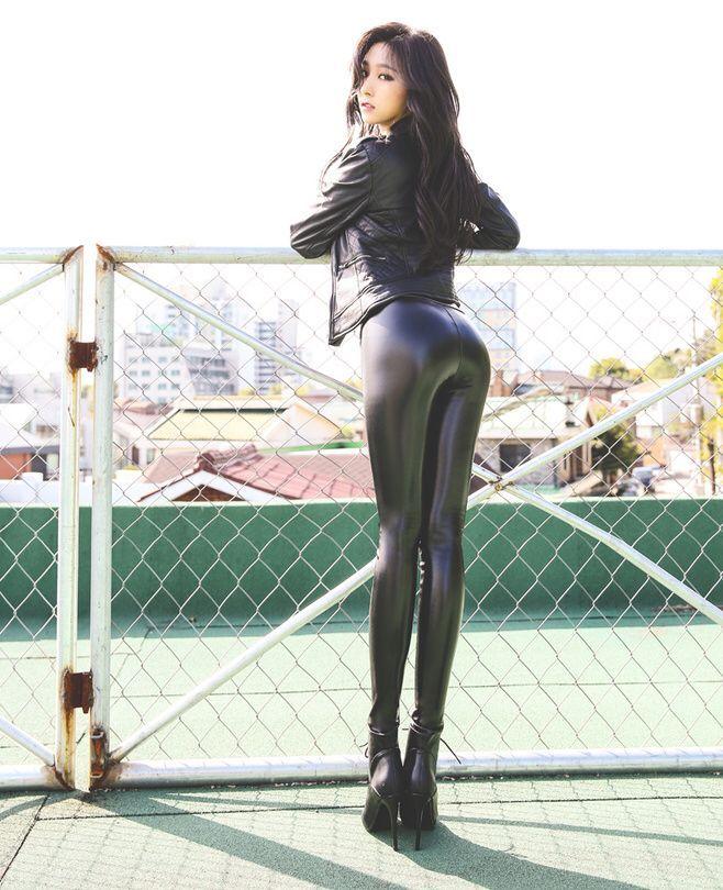 Japan leather pants