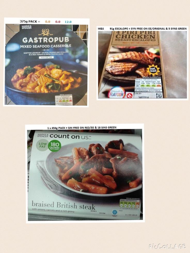 M&S Ready Meals
