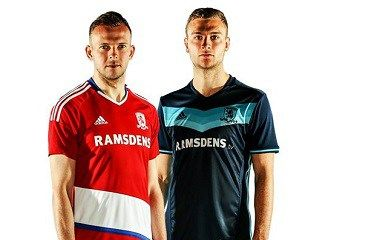 Middlesbrough FC Unveil adidas Home and Away Kits for Premier League Return