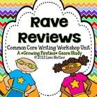 This Common Core driven Writing Workshop Unit includes everything you need for a 2-3 week genre study of Review Writing. Students will learn the di...