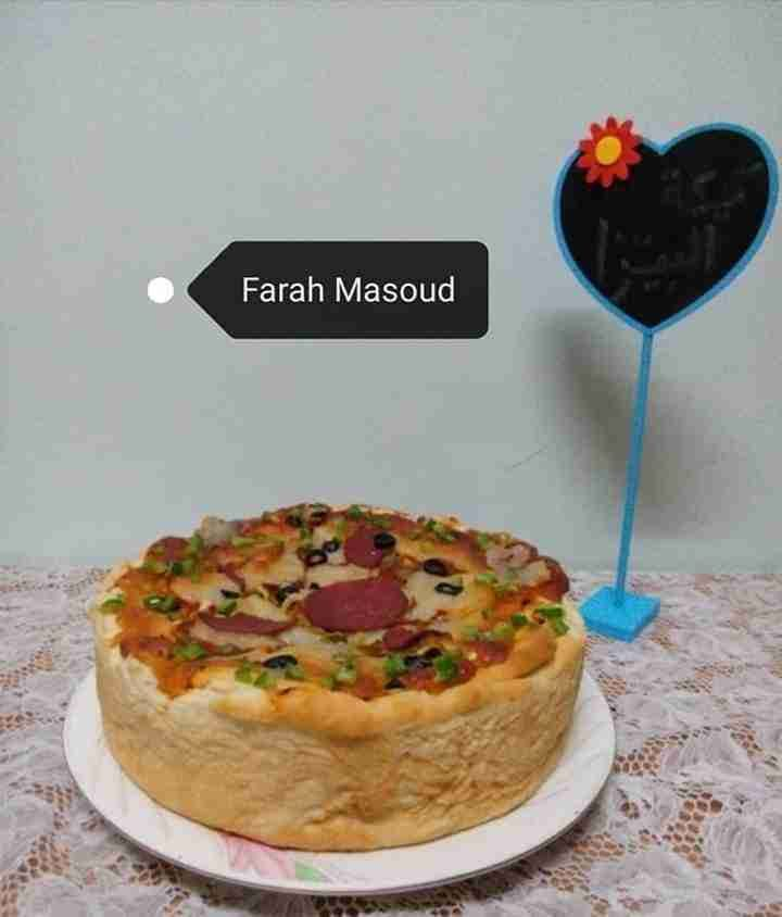 كيكة طبقات البيتزا ملكة رمضان زاكي Recipe Best Dishes Sweet Pastries Desserts