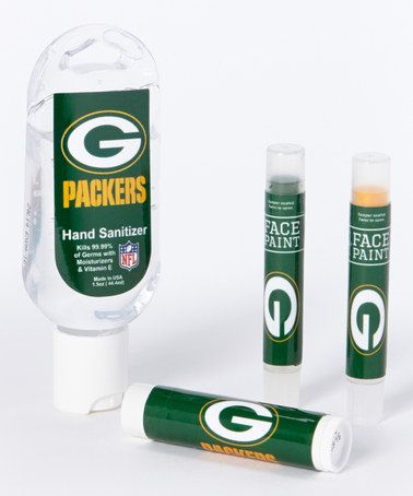 Another great find on #zulily! Green Bay Packers Game Day Spirit Set by Worthy Promotional Products #zulilyfinds