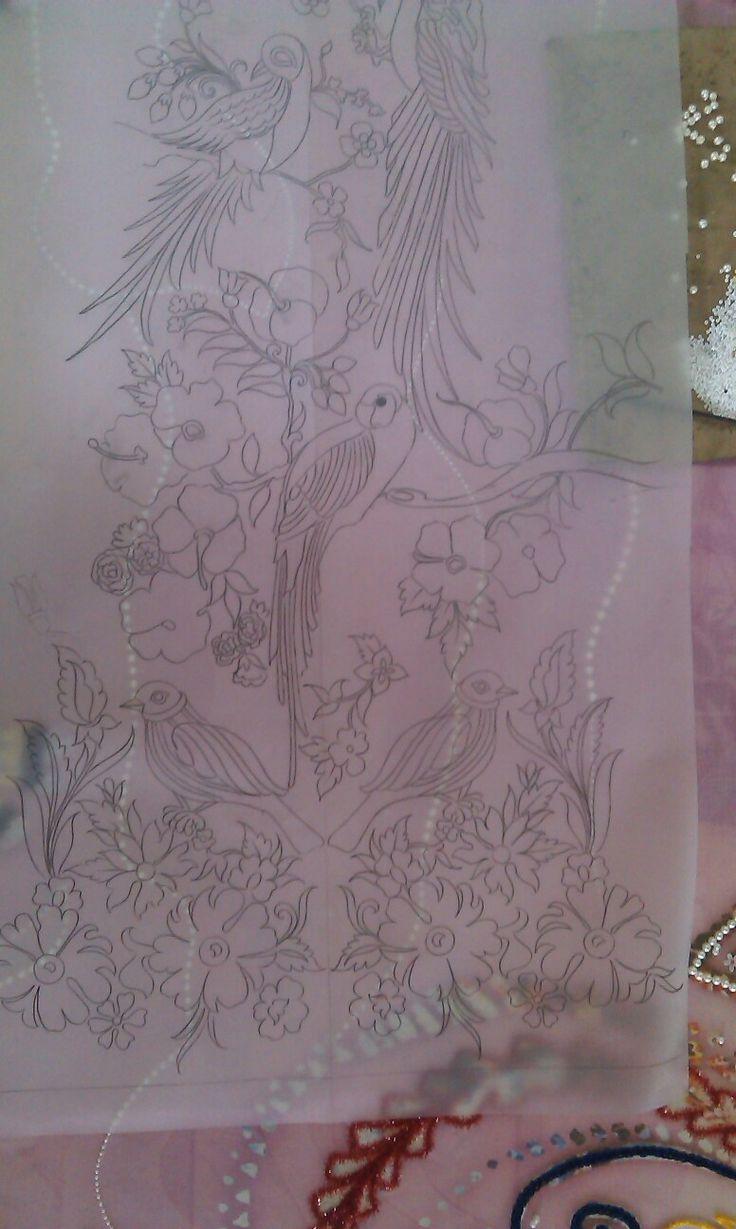 Design khaka and pinterest embroidery