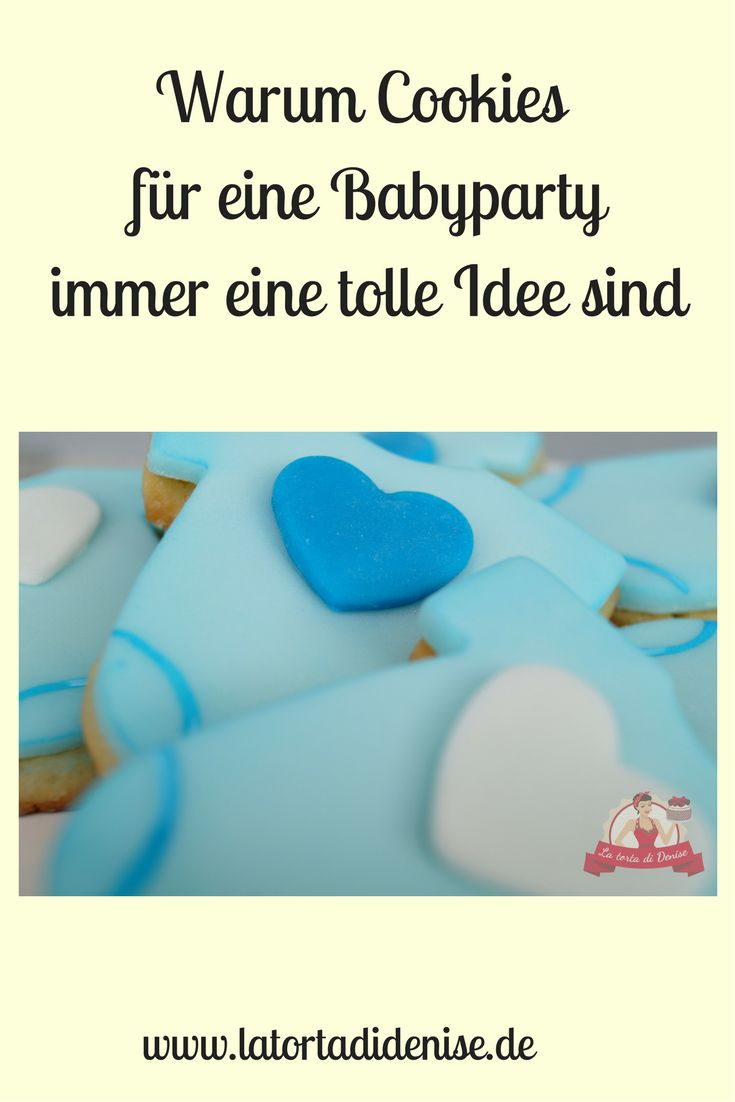 Cookies are always a good idea for a baby shower.  Why?! I`ll tell it to you in my  blogpost.