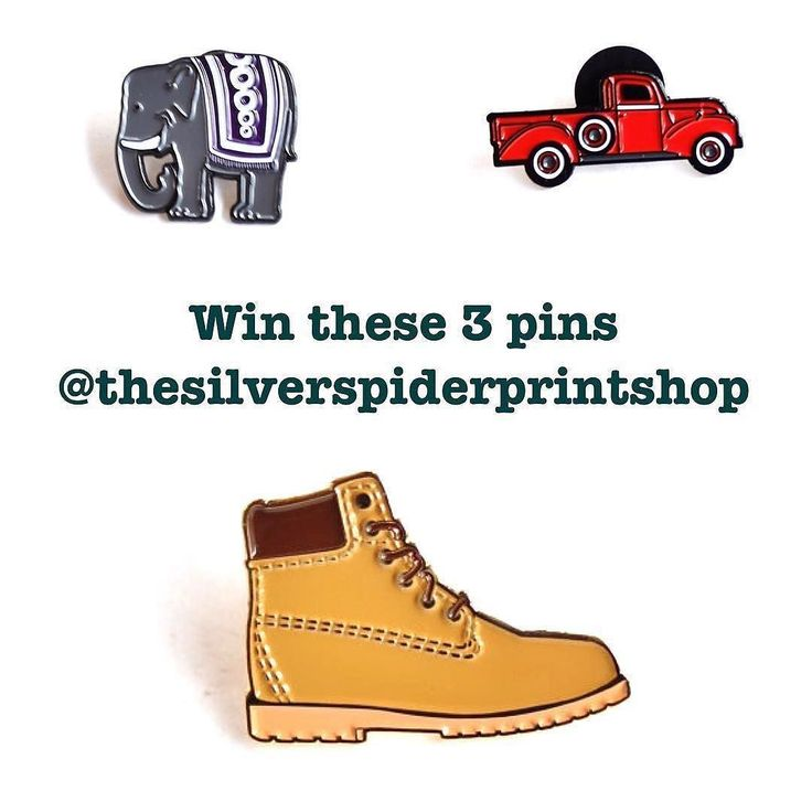 #Repost @thesilverspiderprintshop  Giveaway 3 is over and the winner is @abbyislemon (number 13 was chosen). Next up: they can't all be quick sellers. Here is a giveaway for some sad pins in my shop in terms of sales. You'll win all three pins pictured. Sad for me happy for you. They're all also available for the sale price of $7 plus shipping. To win:  1. Follow @thesilverspiderprintshop and like this original post. 2. Tag up to two friends in the comments below. TWO COMMENTS ONLY. Anyone…
