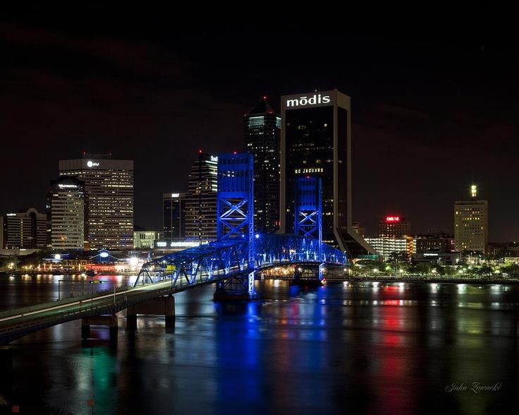 Jacksonville skyline Florida The Sunshine State Pinterest