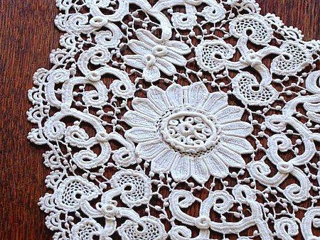 The 235 Best Irish Crochet Motifs Images On Pinterest Crochet